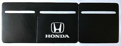 Car Van Road Tax,  Insurance, NCT Disc Holder Black New Wallet Permit For Honda
