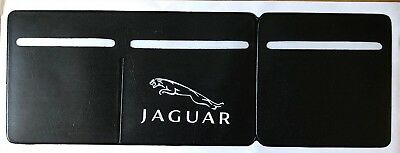 1 x Car Van Road Tax,  Insurance, NCT Disc Holder Black New Wallet For Jaguar