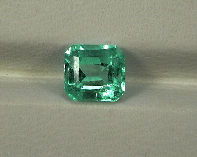 Smaragd  1,03 ct Emerald green Fire Esmeralda  Kolumbien koxgems