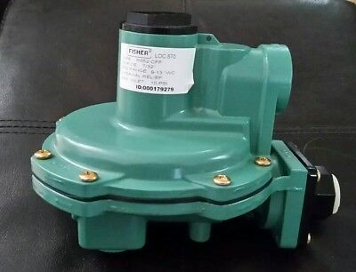 R652-CFF Emerson Fisher LP-Gas 2nd Stage Back Mount Regulator