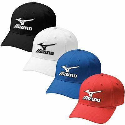 40% OFF RRP Mizuno Tour Fitted Mens Performance Hat Stretch-Fit Golf Cap