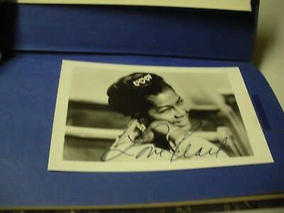 Pearl Bailey Signed Book And Picture Hury Up, America & Spit HC/DJ First Edition