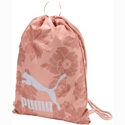 PUMA Originale Gym Sack / Turnbeutel 074812 Peach