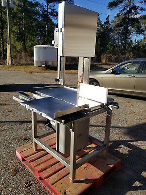 "Hobart 6801 142"" Meat Saw 3 HP 220/3 Ph Butcher Beef Slicer ***WORKS GREAT***"