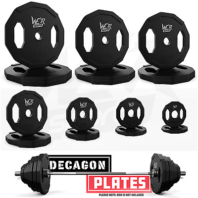 Olympic Polygonal Weight Plates Hexagonal Hex Disc Weight Lifting Rubber Plate