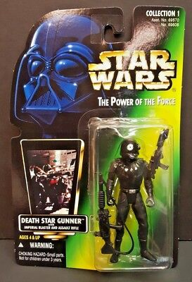 Star Wars The Power of the Force Death Star Gunner Collection 1 NEW