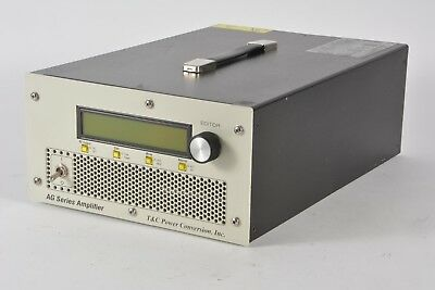 T&C Power Conversion AG1014, 500W 20kHz-2Mhz RF Amplifier, AG 1014, RFI/EMI