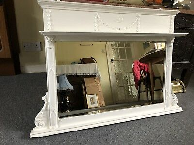 Antique Vintage Edwardian Mirror