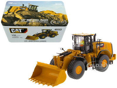 Cat Caterpillar 980M Wheel Loader With Rock Bucket 1/50 By Diecast Masters 85543