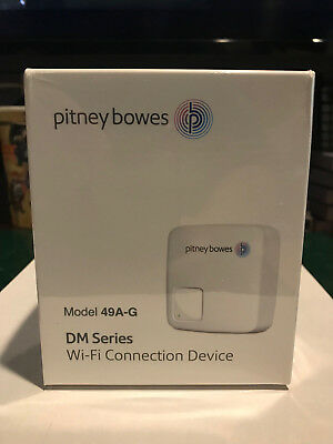 Pitney Bowes 49A-G Wi-Fi Connection Device Dm Series New In Sealed Box