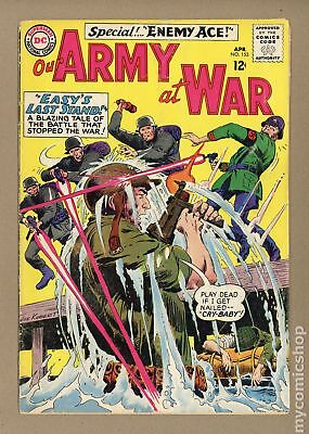 Our Army at War #153 1965 GD 2.0