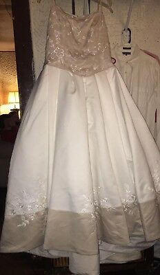 WEDDING GOWN DRESS by Alfred Angelo PLUS size 18 - $150.00 | PicClick
