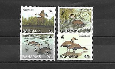 Bahamas Stamps #645-648 Set Of 4 (Hinged) From 1988.
