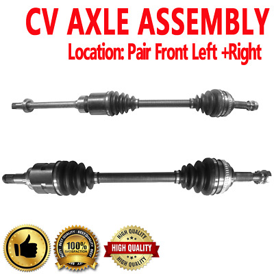 100/% Brand New Front Torque Tested Left Right Cv Shaft Axles Fits For Acura TSX 04-08