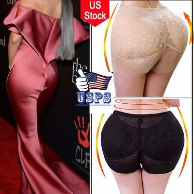 Women Butt Hip Lifter Buttocks Padded Enhancer Shapewear Briefs Panty Shorts USA
