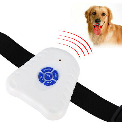 Electric Anti Bark Pet Dog No Barking Training Shock Collar Control Batteries US
