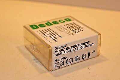 DEDECO Mounted Instrument Sharpener assortment 5410 USA