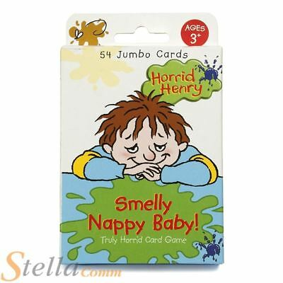 Paul Lamond Horrid Henry Smelly Nappy Jumbo Childrens Memory Snap Card Game