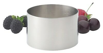 HIC 93212 Stainless Steel Food Ring, 3.5""
