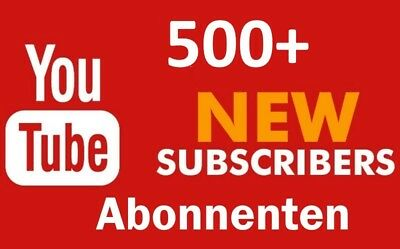 100+ Youtube Subs. / Abonnenten / Channel / Kanal Promotion