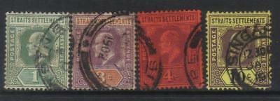 Straits Settlement 1902-1903 Crown Ca 4 Used Values