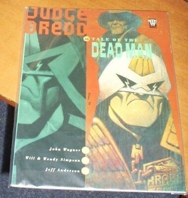 Judge Dredd-Tale of the Deadman (2000 AD Books), Wagner, John, Good Condition Bo