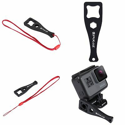 Puluz Thumbscrew Wrench Spanner + Lanyard Wrist Strap for GoPro HERO Edition Cam
