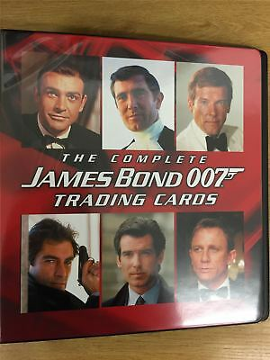 James Bond The Complete Official Rittenhouse Binder