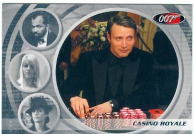 James Bond The Complete Casino Royale Expansion Chase Card 0066