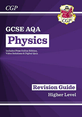 New Grade9-1GCSE Physics AQA Revision Guide with Online Edition by CGP Books