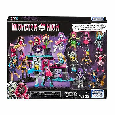 Monster High Glam Ghoul Band Mega Bloks Kids Girls Building Set 182 Pieces