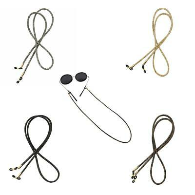 Eyeglasses Chain Spectacles Cord Sunglasses Stirng Leather Neck Cord Holder