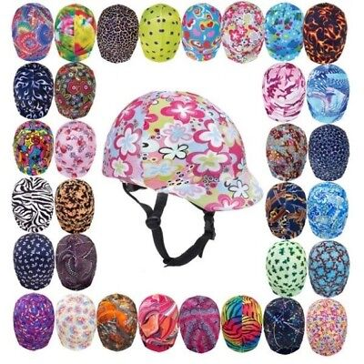 Ovation Zocks Print Riding Helmet Cover to Personalize your Horse Riding
