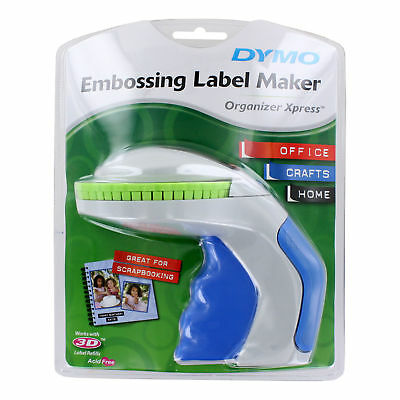 """DYMO 12965 Organizer Xpress Label Maker with 3/8"""" x 144"""" Tape"""