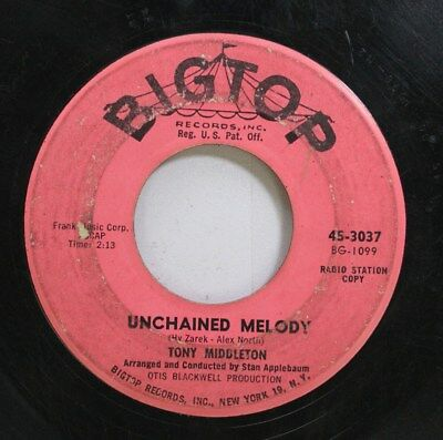 Hear! Northern Soul 45 Tony Middleton - Unchained Melody / Sweet Baby Of Mine On