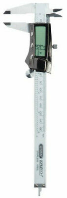 "General Tools 147 Digital Fractional Stainless Steel Caliper, 6"", Auto-Off"