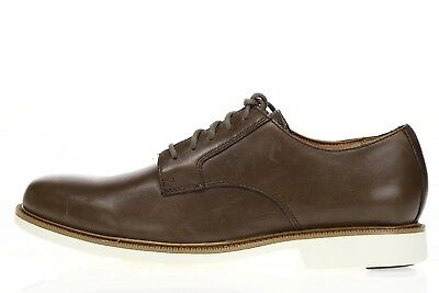 COLE HAAN Mens Light Brown Leather Lace Up Oxfords Sz 8 M