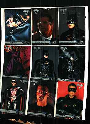 1995 Fleer Ultra Batman Forever 120  High Gloss Cards Near Mint Condition!!