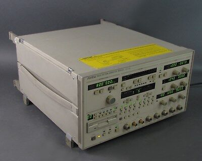 Anritsu MP1652A Pulse Pattern Generator 0.05 MHz to 3 GHz