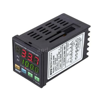 PID Temperature Controller Thermostat Heating Cooling Control Alarm Relay TC/RTD