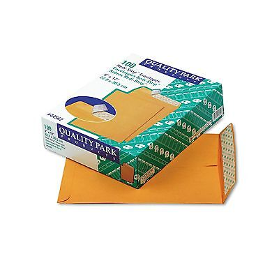 100 SELF-SEAL ENVELOPES 9x12 28lb Kraft Manila Shipping Catalog Mailing Busines