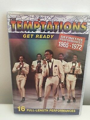 The Temptations Get Ready: Definitive Performances 1965-1972  (DVD)  NEW, SEALED