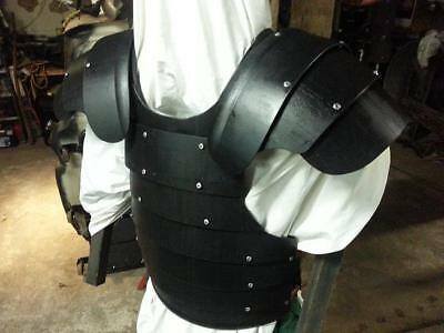 Pitbull Articulated Pauldrons Medieval SCA LARP ARMOR knight Ren faire Shoulders