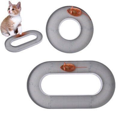 Pet Puppy Cat Electric Mouse Turnplate Toys Teaser Interactive Cats Rotating Toy