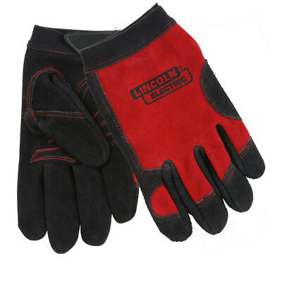 Lincoln Electric KH799L Leather Welding/Work Gloves, Large