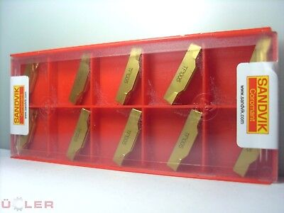 10x Sandvik N123J2-0500-0004-TF 1005 INDEXABLE INSERTS CARBIDE INSERTS