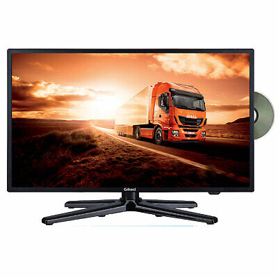 Gelhard GTV-2282 LED 22 Zoll Wide Screen TV DVD DVB/S/S2/T2/C 12/24/230 Volt LKW