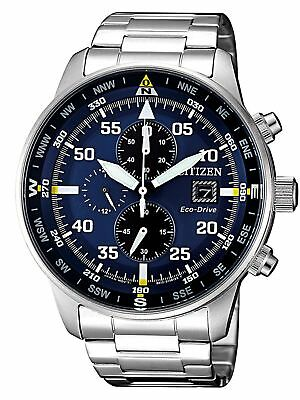 Citizen Solar Eco Drive Chronograph Herrenuhr CA0690-88L Analog Chronograph,Sola