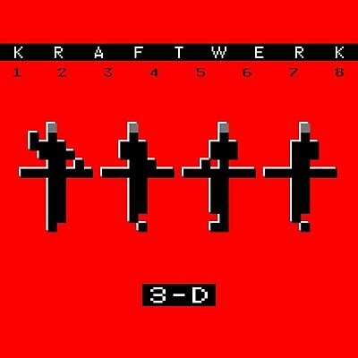 Kraftwerk 12345678 3-D Cd - New Release March 2018