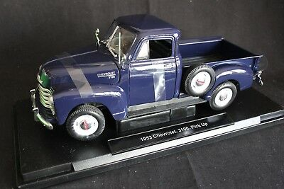 Welly Chevrolet 3100 Pick Up 1953 1:18 blue